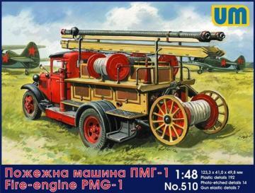 Fire engine PMG-1 · UM 510 ·  Unimodels · 1:72