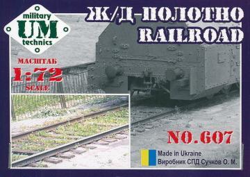 Railroad · UM 607 ·  Unimodels · 1:72