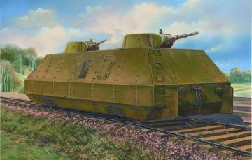 Biax. arm. carr. OB-3 with double T-26-1 · UM 628 ·  Unimodels · 1:72