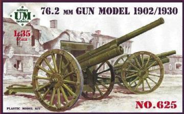 76,2mm gun, model 1902/1930 · UM T625 ·  Unimodels · 1:35