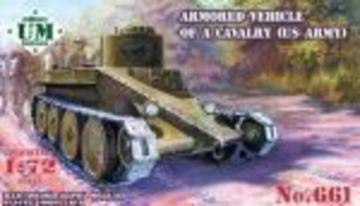 U.S. armored vehicle of a cavalry · UM T661 ·  Unimodels · 1:72
