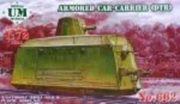 Armored car-carrier (DTR) · UM T662 ·  Unimodels · 1:72