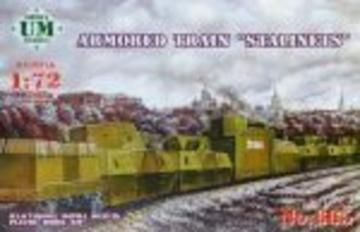 Armored train Stalinets · UM T665 ·  Unimodels · 1:72