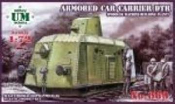 Armored car-carrier DTR (Podolsk maschine building plant) · UM T669 ·  Unimodels · 1:72