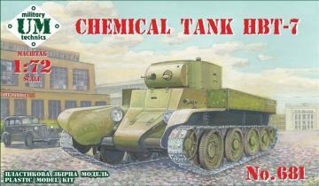 HBT-7 Chemical tank · UM T681 ·  Unimodels · 1:72