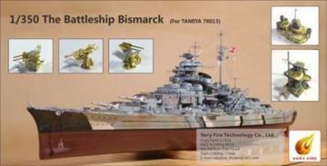 The Battle Ship Bismarck [Tamiya] · VF 350003 ·  Very Fire · 1:350