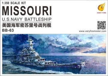USS Missouri BB-63 · VF 350903 ·  Very Fire · 1:350