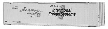 48` Container CP INDERMODEL FREIGHTSYSTEMS · WAL 1801 ·  Walthers · H0