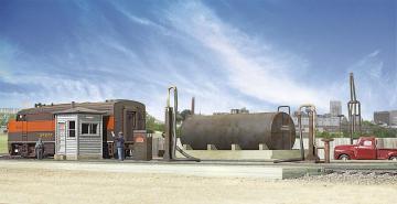 Diesellagertank · WAL 2908 ·  Walthers · H0