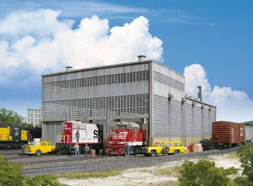 Diesel-Lokwerkstatt · WAL 2916 ·  Walthers · H0