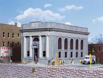 Bankgebäude Bailey Saving and Loan · WAL 3031 ·  Walthers · H0