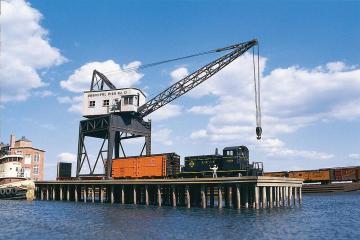Pier-Kran · WAL 3067 ·  Walthers · H0