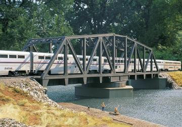 Drehbrücke, 2-gleisig · WAL 3088 ·  Walthers · H0