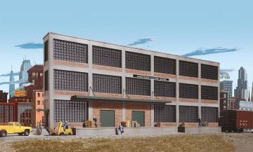Motorenfabrik, Hintergrundgebäude · WAL 3172 ·  Walthers · H0