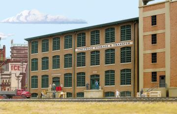 Lagergebäude, Hintergrundgebäude · WAL 3189 ·  Walthers · H0