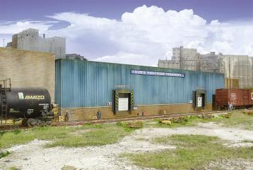 Speditionsgebäude, Hintergrundgebäude · WAL 3192 ·  Walthers · H0