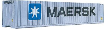 40´-HC Container MAERSK · WAL 3401 ·  Walthers · N