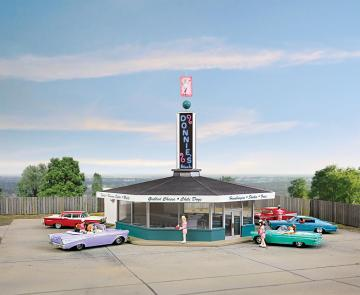 Donnies Drive-In · WAL 3474 ·  Walthers · H0
