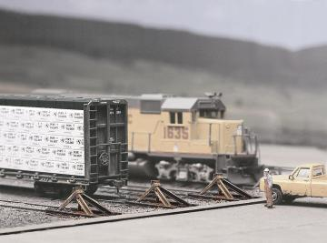 Prellböcke, 12 Stück · WAL 3511 ·  Walthers · H0