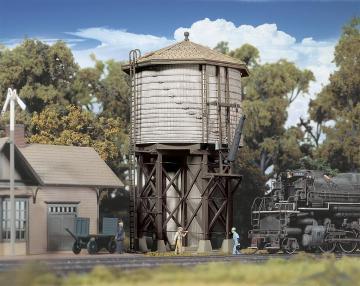 Wasserturm - Holzoptik · WAL 3531 ·  Walthers · H0