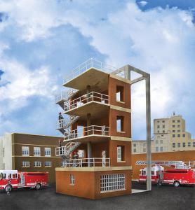 Feuerwehr Übungsturm · WAL 3766 ·  Walthers · H0