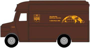 UPS Lieferwagen · WAL 4000 ·  Walthers · H0