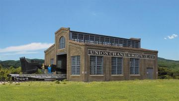 Fabrikgebäude Union Crane and Shovel · WAL 4021 ·  Walthers · H0