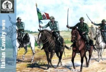 Italian Cavalary WWII · WAT AP001 ·  Waterloo 1815 · 1:72