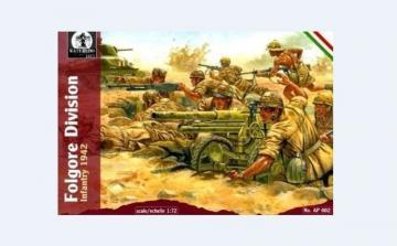 Folgore Division Infantry, 1942 · WAT AP002 ·  Waterloo 1815 · 1:72