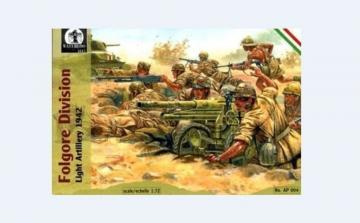 Folgore Division Light Artillery, 1942 · WAT AP004 ·  Waterloo 1815 · 1:72
