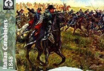 Italian Carabinieri, 1848 · WAT AP005 ·  Waterloo 1815 · 1:72
