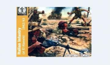Italian Infantry Afrika, 1940-43 · WAT AP006 ·  Waterloo 1815 · 1:72