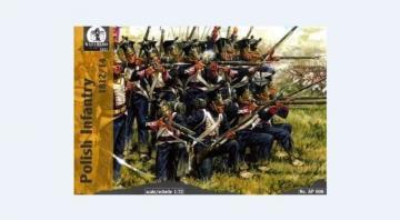Polish Infantry, 1808-14 · WAT AP008 ·  Waterloo 1815 · 1:72