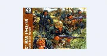 Italian Fascist Army, 1940-43 · WAT AP010 ·  Waterloo 1815 · 1:72
