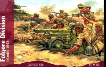 Folgore Division Infantry, 1942 · WAT AP012 ·  Waterloo 1815 · 1:32