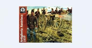 Austrian Artillery, 1859 · WAT AP018 ·  Waterloo 1815 · 1:72