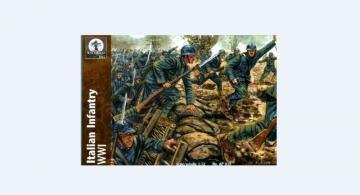 Italian Infantry, WWI · WAT AP019 ·  Waterloo 1815 · 1:72