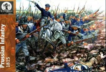 Preussische Infantry, 1812-15 · WAT AP020 ·  Waterloo 1815 · 1:72