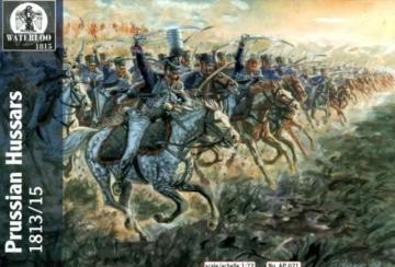 Preussische Husaren Brandenburg,1813-15 · WAT AP021 ·  Waterloo 1815 · 1:72
