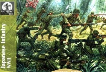 Japanische Infantry WWII · WAT AP022 ·  Waterloo 1815 · 1:72