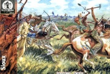 Sioux · WAT AP023 ·  Waterloo 1815 · 1:72