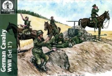 Wehrmacht & Waffen Cavalary WWII, 1st v. · WAT AP025 ·  Waterloo 1815 · 1:72