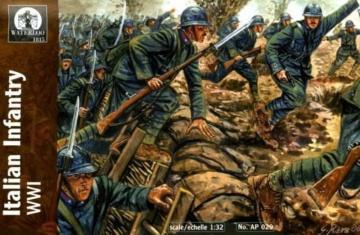 Italian Infantry, WWI · WAT AP029 ·  Waterloo 1815 · 1:32