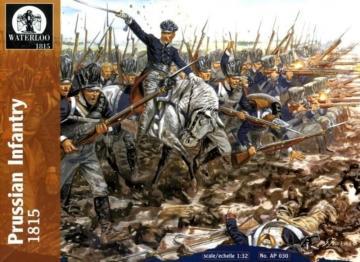 Preussische Infantry, 1812-15 · WAT AP030 ·  Waterloo 1815 · 1:32