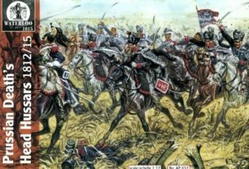 Prussian´s Death´s Head Hussars, 1812-15 · WAT AP032 ·  Waterloo 1815 · 1:72