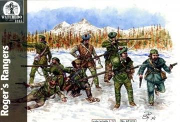 Roger´s Rangers · WAT AP035 ·  Waterloo 1815 · 1:72