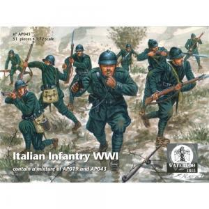 Italian Infantry WWI · WAT AP043 ·  Waterloo 1815 · 1:72