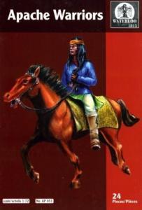 Apache warriors · WAT AP051 ·  Waterloo 1815 · 1:72