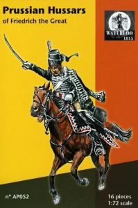 Prussian Hussars of Fredrich the Great · WAT AP052 ·  Waterloo 1815 · 1:72
