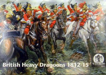 British Heavy Dragoons 1812-1815 · WAT AP053 ·  Waterloo 1815 · 1:72